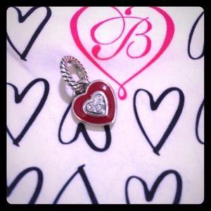 Brighton ABC Red Enamel Heart ♥️ Charm.
